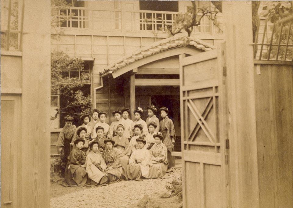 (写真2)明治42年・跡見学校