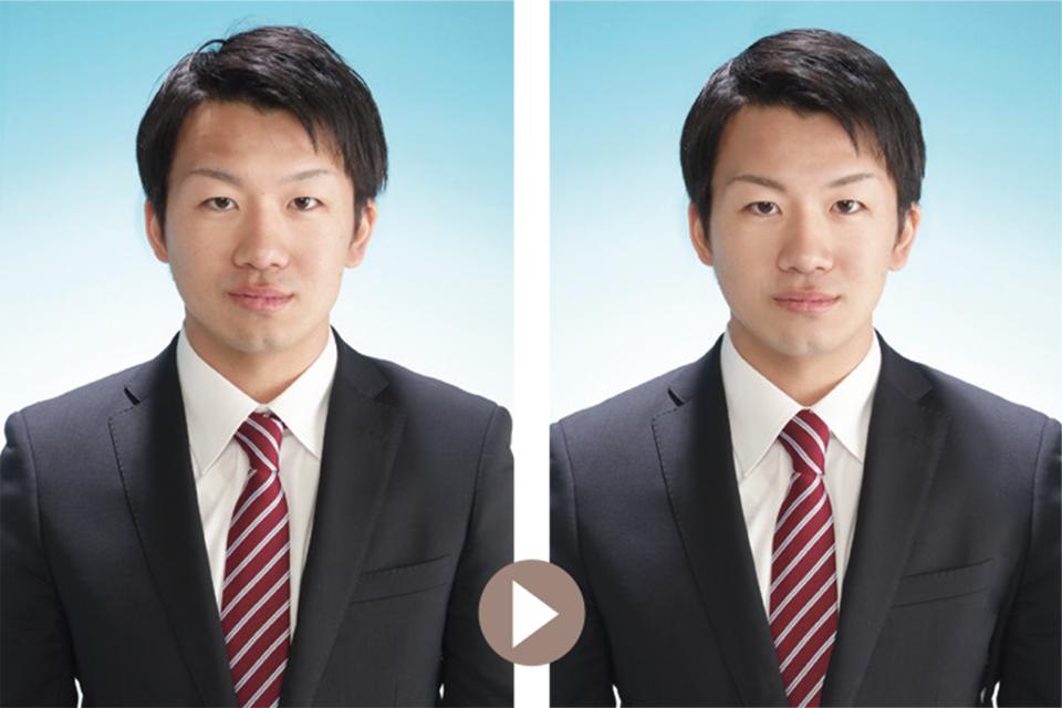 合格率に差を出す証明写真の違い
