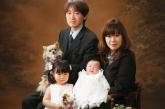 Family photograph  01〜渡部さん