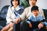 Family photograph  02〜米田さんご家族の場合