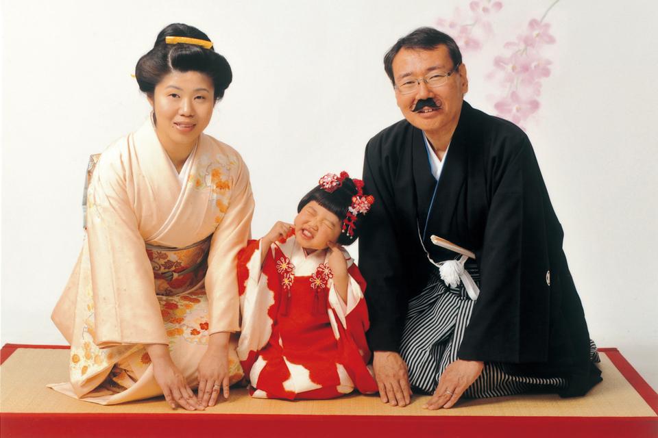 Family photograph  02〜米田さんご家族の場合