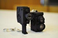 カメラ型キーホルダー 各472円